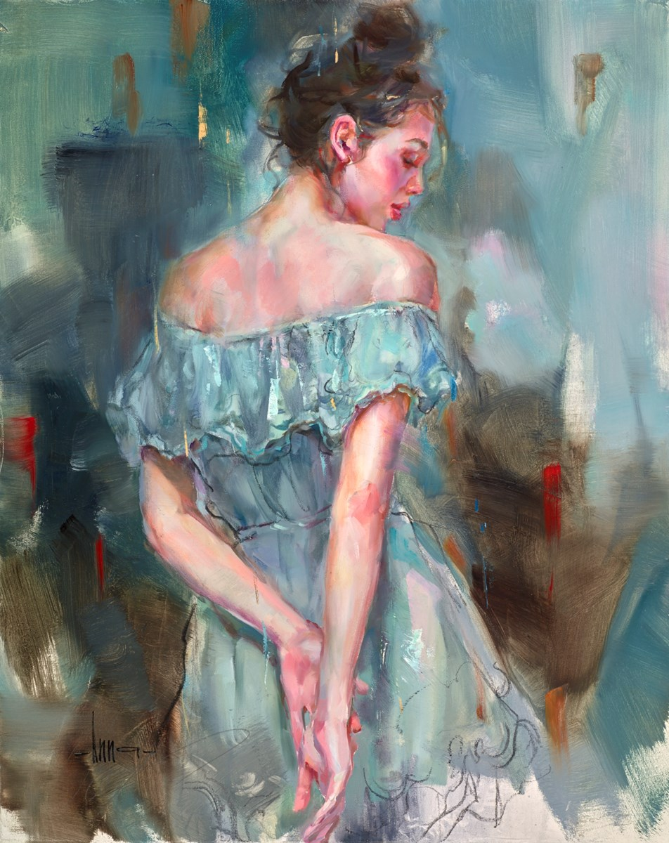 Blanket of Blue by anna razumovskaya -  sized 24x30 inches. Available from Whitewall Galleries